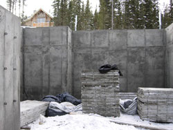 Concrete Poured Walls - JT Earthworks